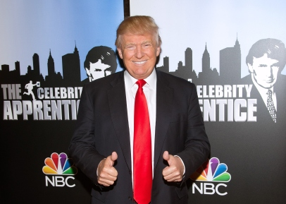 "NEW YORK, NY - JANUARY 05: Donald Trump attends the ""Celebrity Apprentice"" Red Carpet Event at Trump Tower on January 5, 2015 in New York City. (Photo by Mike Pont/FilmMagic)"