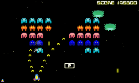Space Invaders arcade game, 1978